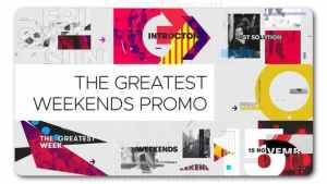 The Greatest Weekends Promo
