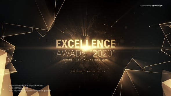 Download Excellence Awards Opener – FREE Videohive