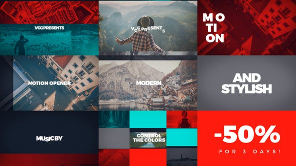 Download Motion Opener – FREE Videohive