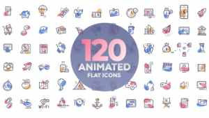 120 animated icons
