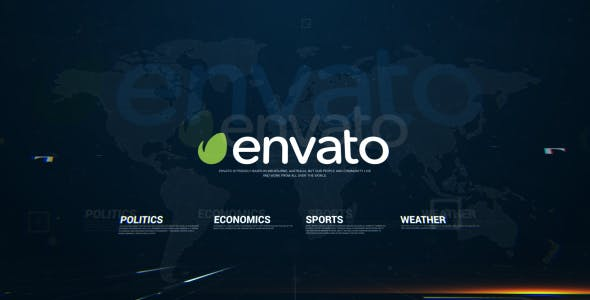 Download News Package – FREE Videohive