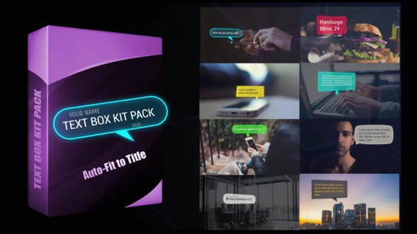 Download Download Text Box Kit Pack - FREE Videohive - After ...