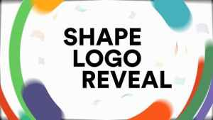 Shapes Logo Reveal