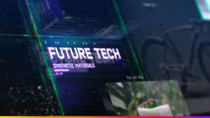 Futuristic HUD Slideshow