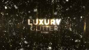 Luxury Glitter Titles