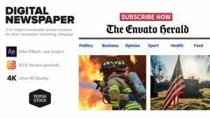 Online Newspaper Promotion