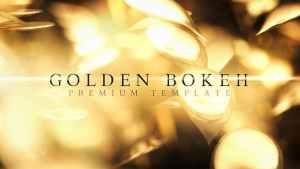 Golden Bokeh