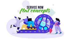 Service Now - Flat Concept