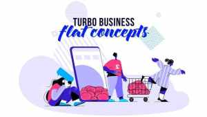 Turbo Business - Flat Concept