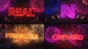 Fireworks Logo & Titles