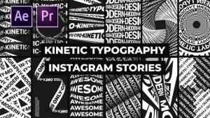 Kinetic Typography Instagram Stories