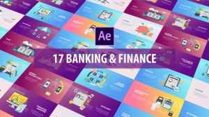 Banking and Finance - Flat Animation