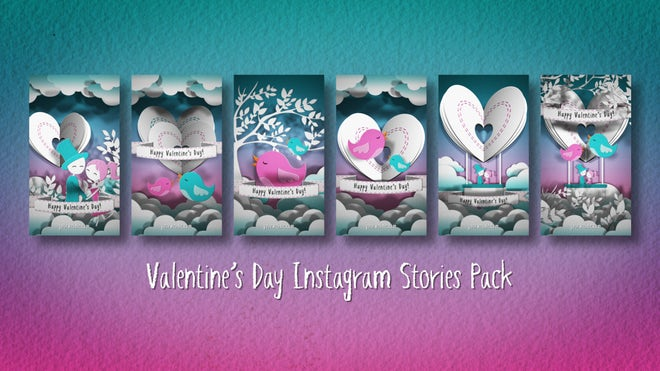 Download Valentine´S Day Instagram Stories Pack