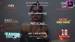 Shape Titles   Premiere Pro MOGRT