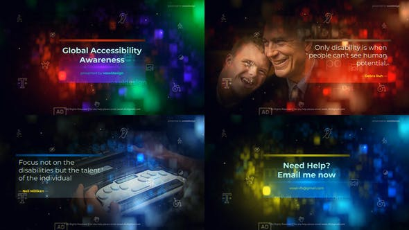 Download Global Accessibility Awareness Opener 26683623 Videohive