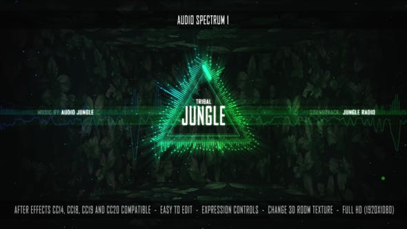 Download Audio Spectrum 1 – FREE Videohive