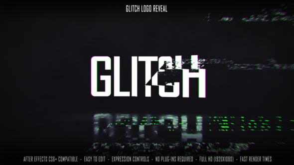 Download Glitch Logo Reveal – FREE Videohive