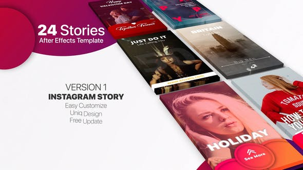 Download Instagram Story V1 – Videohive
