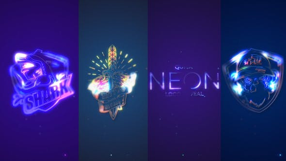 Download Quick Neon Logo Reveal – Videohive
