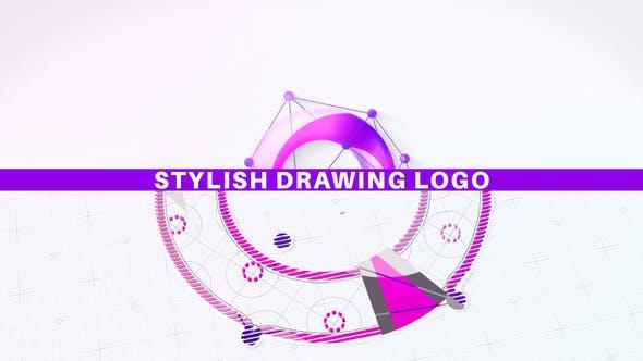 Download Stylish Drawing Logo – Videohive