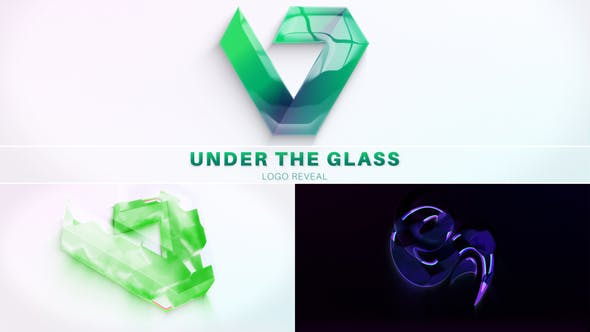 Download Under The Glass Logo Reveal – Videohive