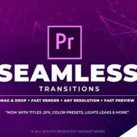 VIDEOHIVE 700+ PACK: TRANSITIONS, LIGHT LEAKS, COLOR PRESETS, SOUND FX - PREMIERE PRO
