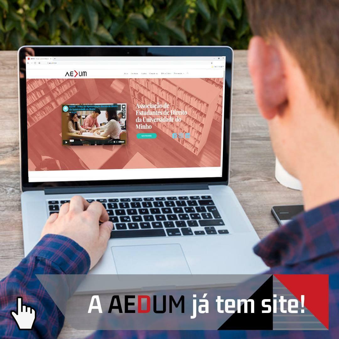 """""""Abertura"""" Oficial do Site AEDUM"""