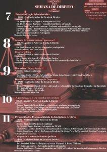 Cartaz Geral XXIII Semana de Direito