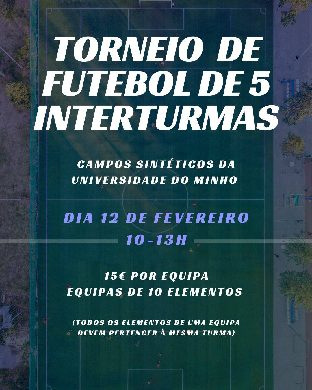 Torneio de Futebol de 5 Interturmas
