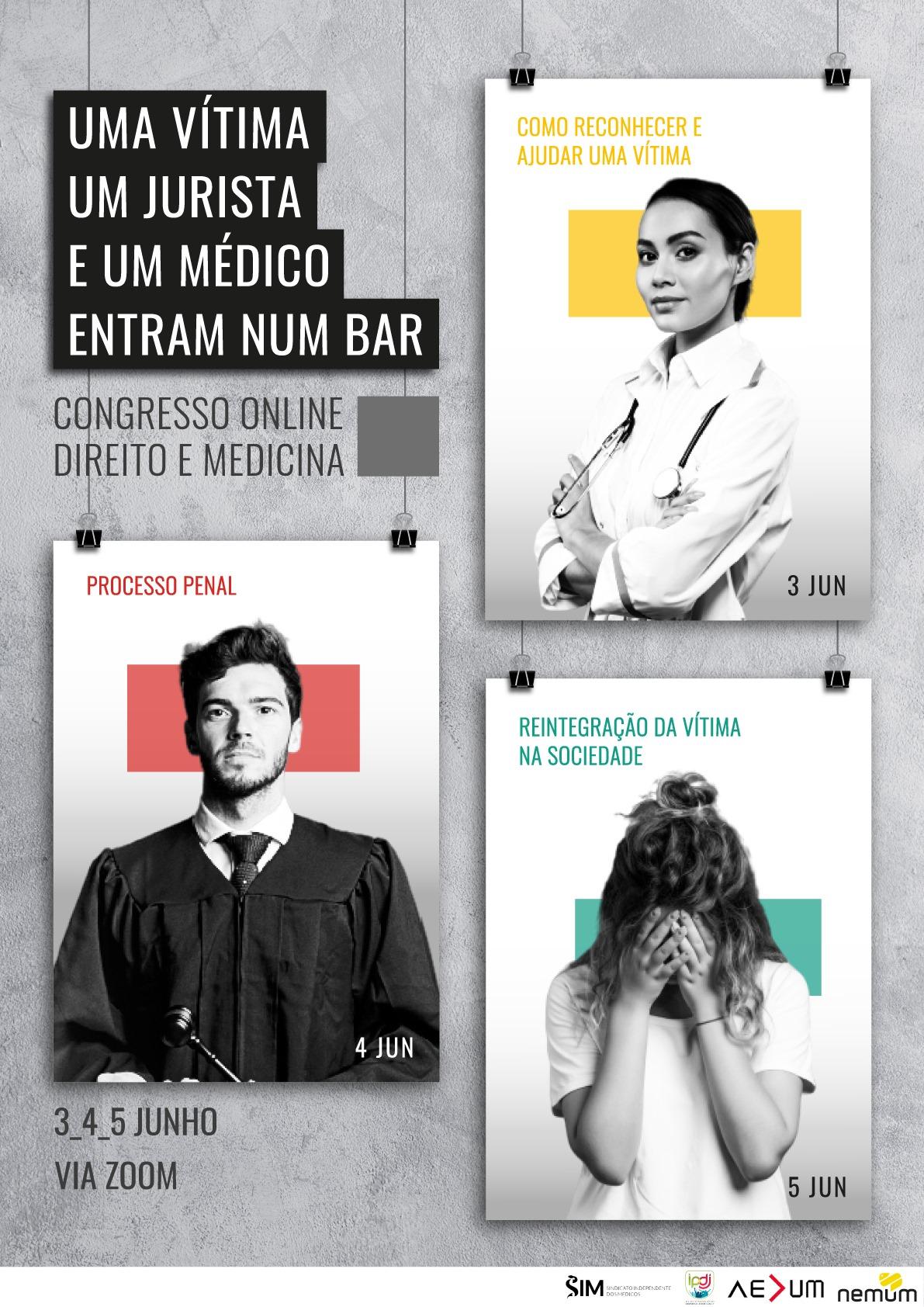Uma Vítima, um Jurista e um Médico Entram num Bar – Congresso de Direito e Medicina