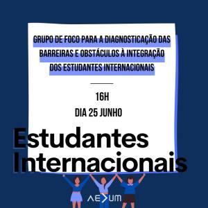 Grupo de Foco de Estudantes Internacionais