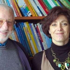 Pierre Thuilleaux, professeur d'espagnol à la retraite et Marie-Pierre Gairin en charge du recrutement des professeurs bénévoles à l'AEEM Pau Béarn