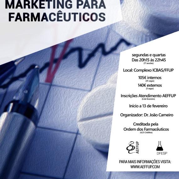 Curso de Marketing para Farmacêuticos – Inscrições