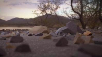 Rocks Dusk