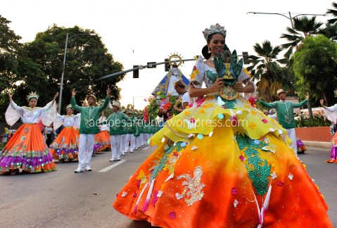 Maytime Festival Queen from Antipolo City