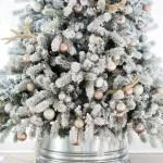 Diy Galvanized Christmas Tree Collar
