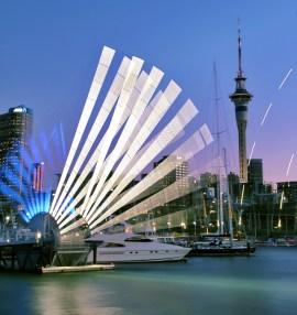 Wynyard Crossing, Auckland, New Zealand