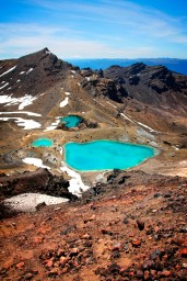 tongariro new zealand emerald lakes