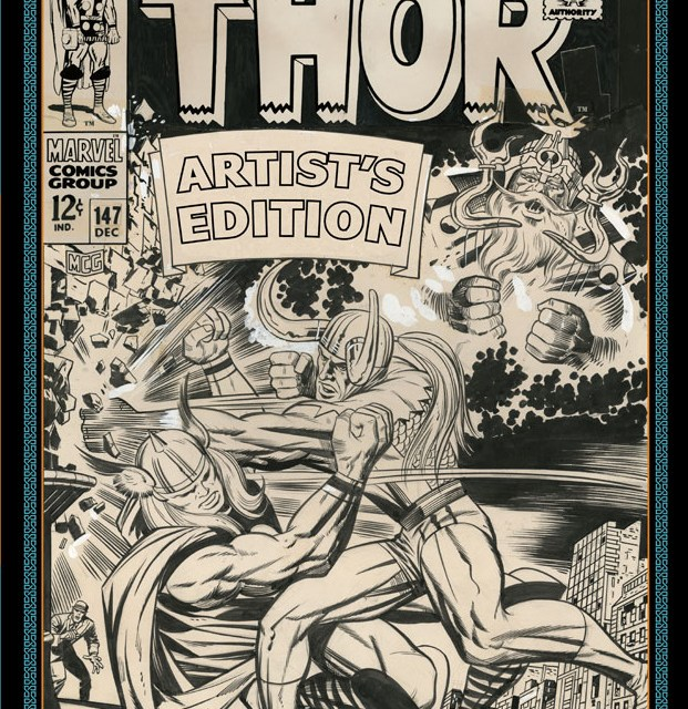 Scott Dunbier and Jack Kirby's Mighty Thor Artist's Edition video