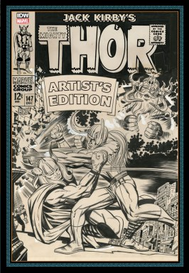 Jack Kirbys The Might Thor Artists Edition cover