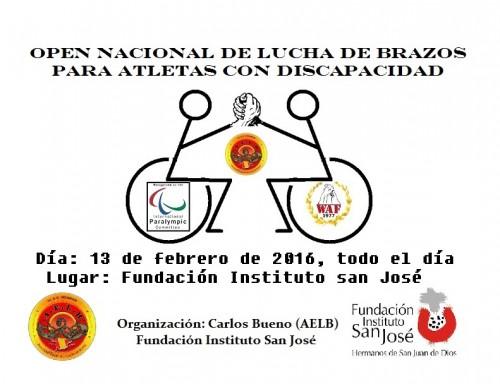 open discapacitados 2016