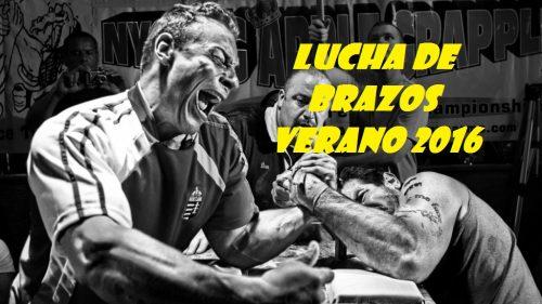 LOGO LUCHA DE BRAZOS VERANO 2016