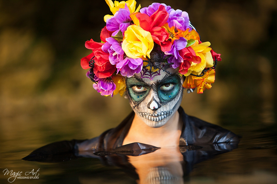 La Catrina by Magic Art Wedding Studio, Riviera Maya, Mexico