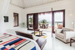Oceanfront suite at Hotel Esencia, Riviera Maya, Mexico