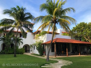 Main House, Hotel Esencia, Xpuha Beach, Mexico. Ael Becker Weddings