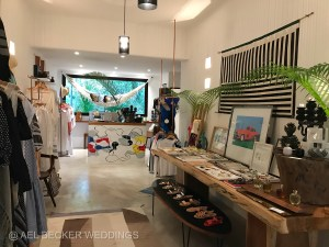Boutique shop at Hotel Esencia, Riviera Maya, Mexico.
