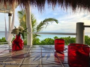 Mistura Xpuha beachfront restaurant at Hotel Esencia, Riviera Maya.