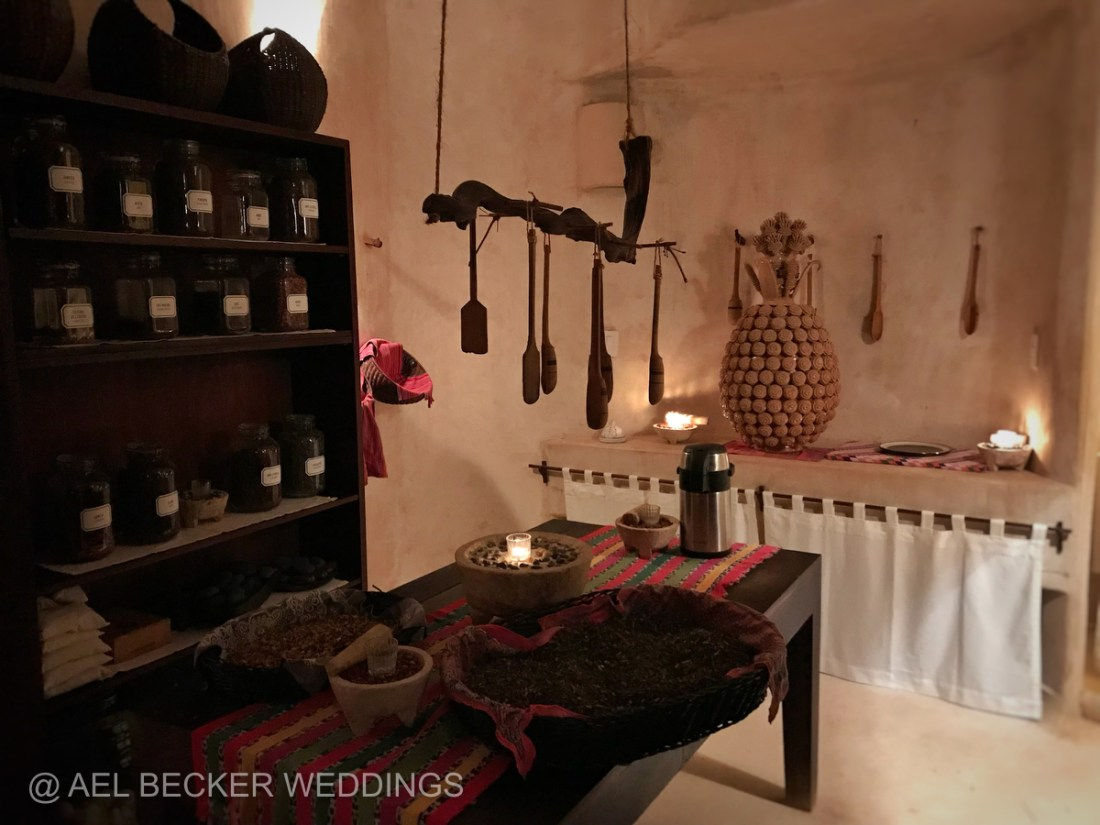 Organic Spa at Hotel Esencia. Luxury Retreat in Riviera Maya, Mexico. Ael Becker Weddings