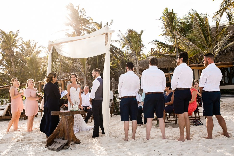Tulum Miracle Wedding. Ael Becker Weddings. Jonathan Cossu Photographer