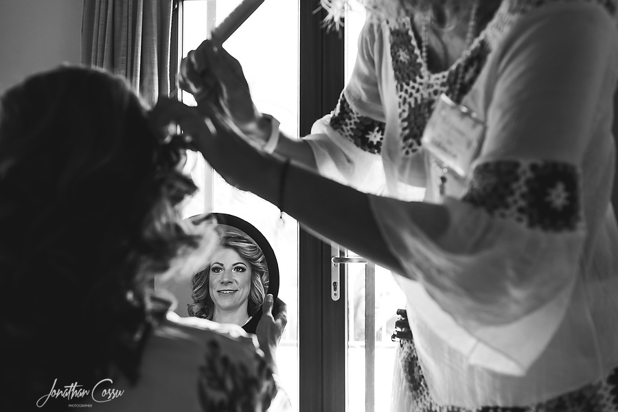 Doranna Hairstylist Riviera Maya. Ael Becker Weddings